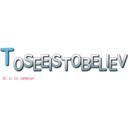 TOSEEISTOBELIEV (2C  is  to  believe!)